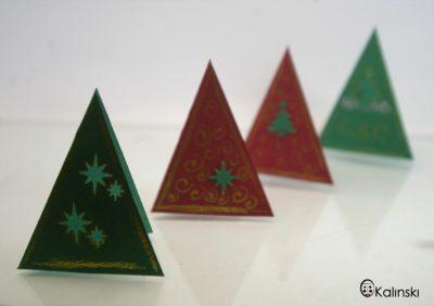 Коледни картички - ръчно изработени