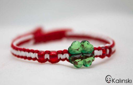 ръчно-изработени-мартеници-гривна-зелена-прозрачна-детелина-web2