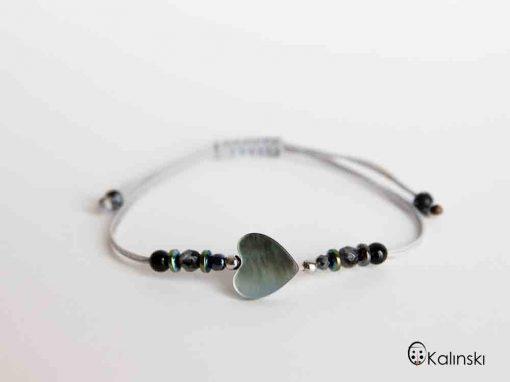 гривна-естествени-камъни-сърце-седеф-хематит